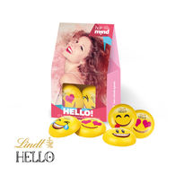 Personalised Lindt Emoji Presentbox