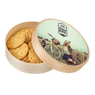 Personalised medium wooden cookie box
