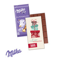 Milka 40g Bar in Personalised Box