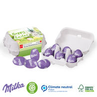Personalised Easter Milka egg carton