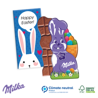 Milka Bunny Shaped Chocolate Bar