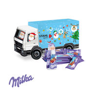 Milka Personalised Christmas Truck