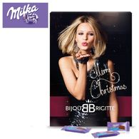 Personalised Advent Milka Chocolate Wall Calendar