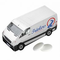 Personalised Van Shaped Mints Box