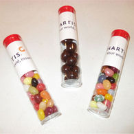 Personalised tubes of sweets