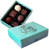 Luxury Personalised 6 choc Truffle Box