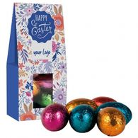 Personalised Easter mini eggs sachet