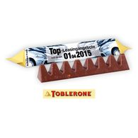 Personalised 35g Toblerone bar with Fully Printed Sleeve