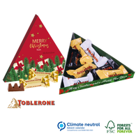 Personalised Toblerone Christmas Triangular Gift Box