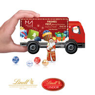 Lindt Luxury Christmas Truck Gift Box