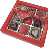 Valentine Heart and Praline Gift Box