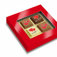 Valentine Box of Printed Pralines