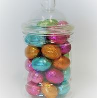Easter Eggs in personalised Victorian sweet jar