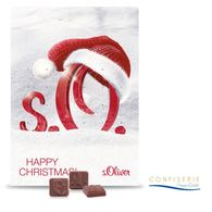 Personalised Classic Design Moulded Wall Advent Calendar